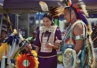 Native Americn family